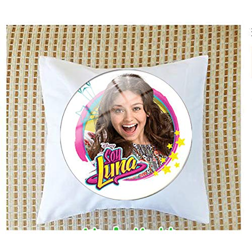 Super Popular Singer Soy Luna Necklace Handmade Art Picture Glass Cabochon Pendant Pillow Bolster
