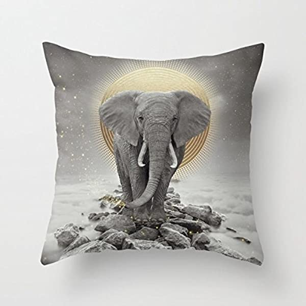 UOOPOO Strength Courage Mini Pillow Decorative Pillow 8 X 8 Inches Soft Cotton Canvas Home Decorative Include Insert