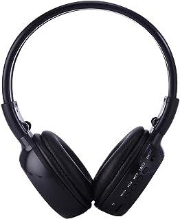 MP3 Player Sunzimeng BS-N65 Headband Folding Stereo HiFi Wireless Headphone Headset with LCD Screen & TF Card Slot & LED I...