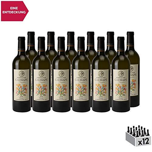 Jurançon Sec Geyser Weißwein 2018 - Domaine Cauhapé - g.U. - Süd-West Frankreich - Rebsorte Gros Manseng, Petit Manseng, Camaralet - 12x75cl