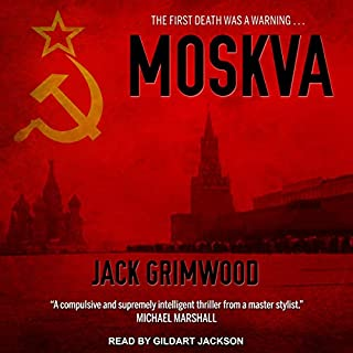 Moskva audiobook cover art