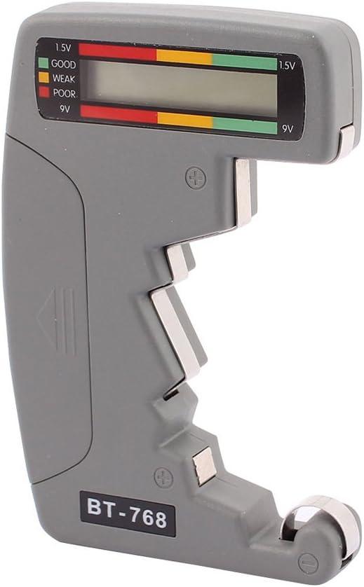 Diamondo Digital LCD Battery Tester Checker, Universal AA AAA C D 9V/1.5V Cell BT-768 Volt Checker