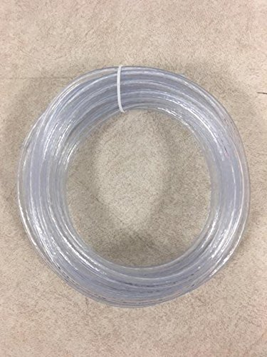 1/4' I.D. x 3/8' O.D. PVC Vinyl Tubing - 10 feet