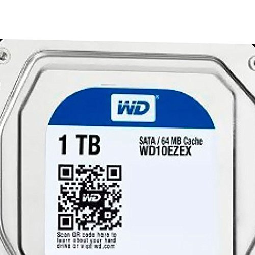 "Western Digital 1TB WD Blue PC Hard Drive HDD - 7200 RPM, SATA 6 Gb/s, 64 MB Cache, 3.5"" - WD10EZEX"