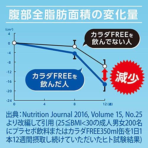 【お腹まわりの脂肪を減らす】キリンカラダFREE(カラダフリー)[ノンアルコール350ml×24本]