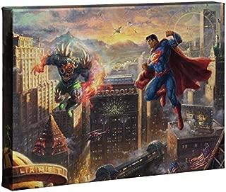 Thomas Kinkade Studios Superman Man of Steel 10 x 14 Gallery Wrapped Canvas