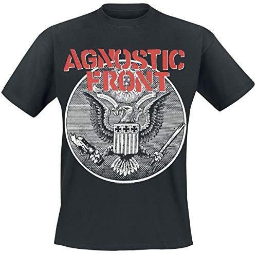 Agnostic Front Against All Eagle T-Shirt schwarz L