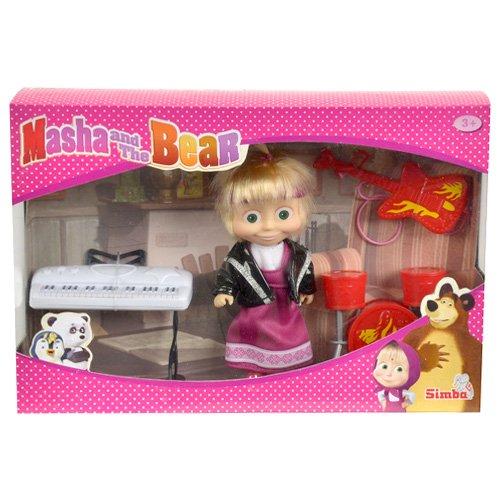 Poupée MASHA et MICHKA avec accessoires jouet simba masha et l'ours