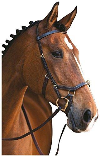 Horseware Rambo Micklem Multibridle 3 in 1 Trense Zaum Größe und Farbe wähbar (braun, WB)