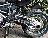 Carbon Klebesatz Kardantunnel für die BMW R1200 GS/LC ab 2013 Motorrad Aufkleber