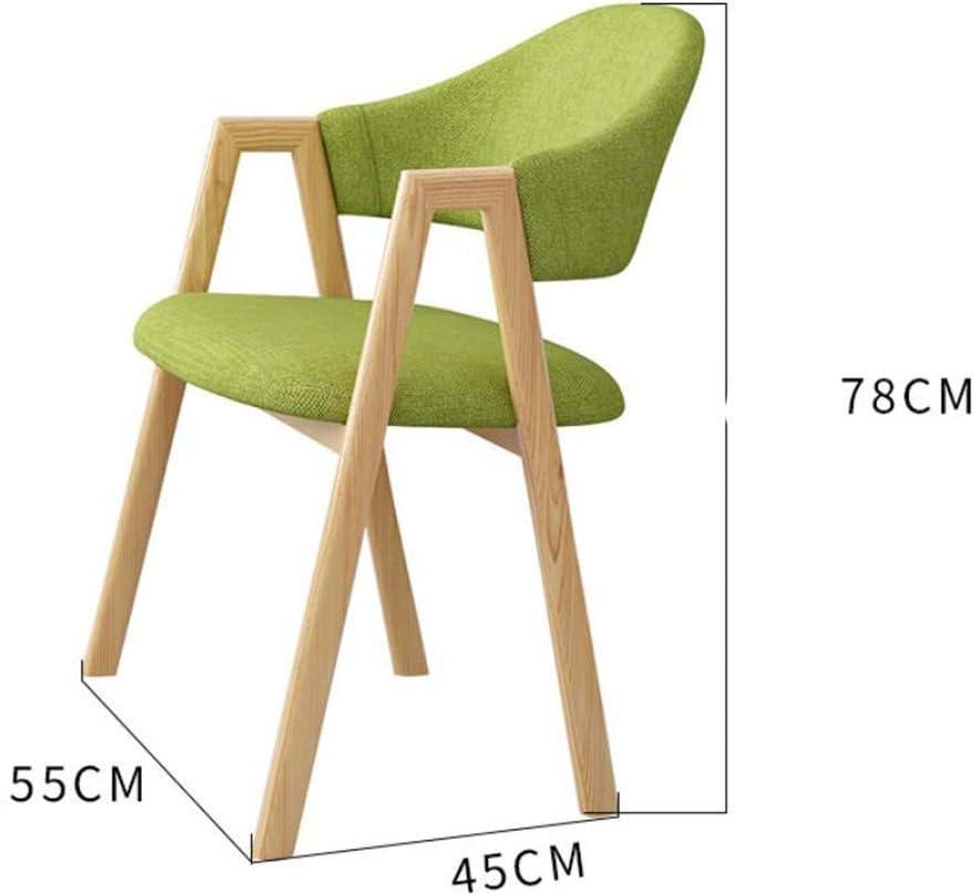 Stable Simple chaise bureau étudiant et chaise de maquillage tabouret retour à la maison à manger chaise d'ordinateur Gratuit (Color : Brown) Dark Gray