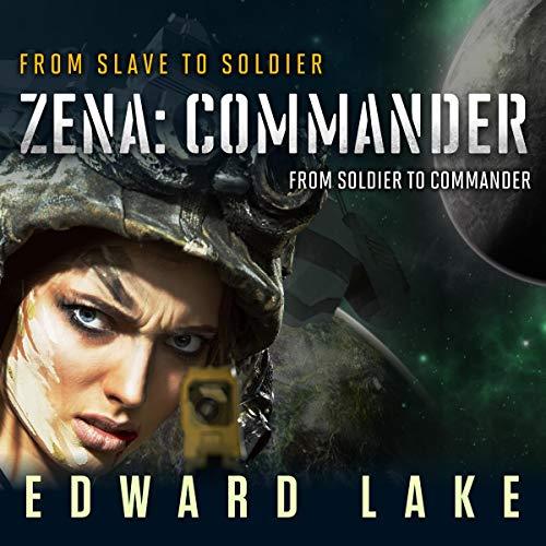 Zena: Commander audiobook cover art
