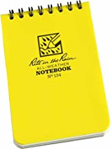 product image for Rite In The Rain Notebook Spiral 3 In. X 4-1/2 In. Yellow