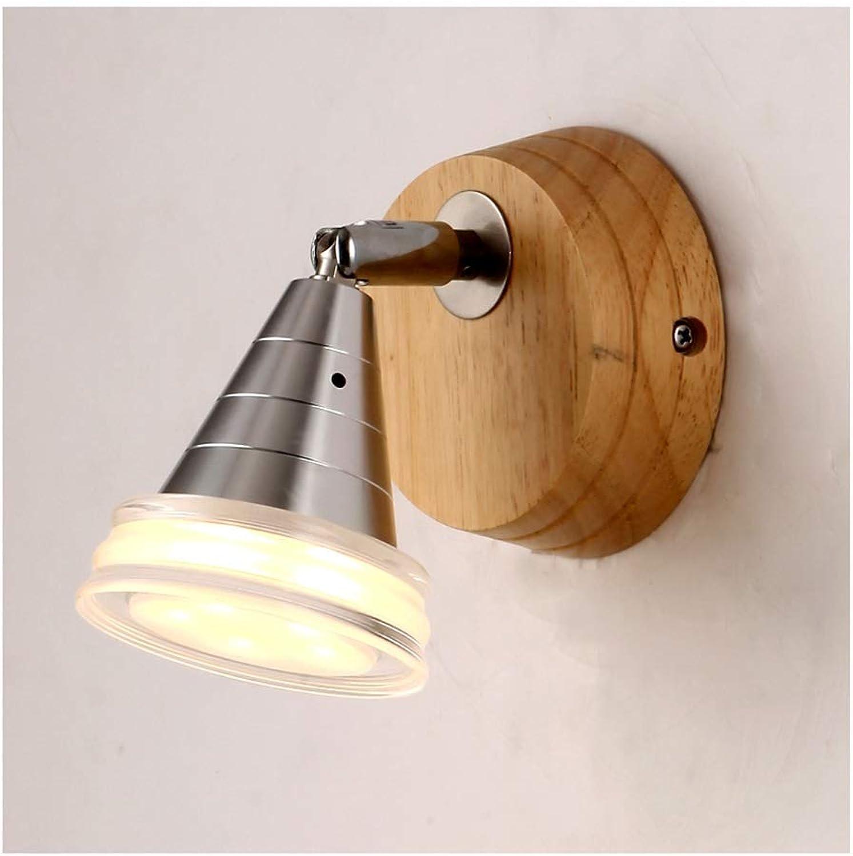 @Wandleuchte Wandleuchte Einfache Massivholz LED Wohnzimmer Schlafzimmer Studie Gang Wandleuchte Wandlampe