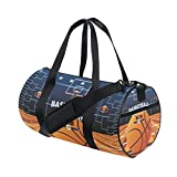 Ahomy Sac de Sport Sac de Voyage Basketball Tournament Support Sac de Sport Pendant...