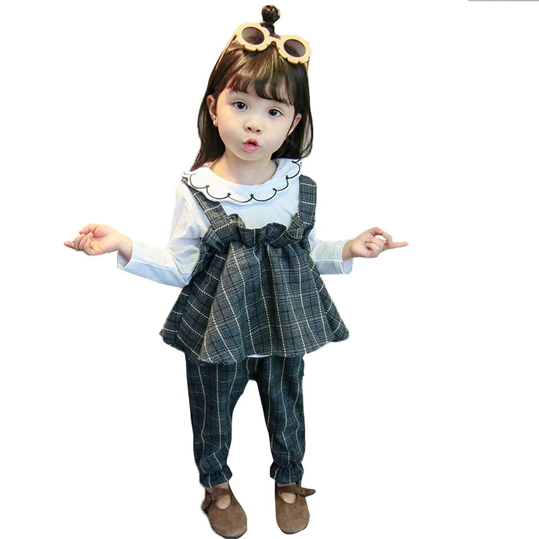 Neky 子供 ワンピース 女の子 フォーマル スーツ キッズ ドレス チェック柄 3点セット 発表会 入園式 結婚式