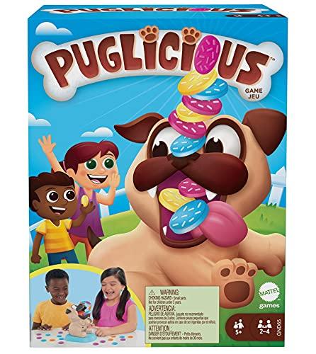 Mattel Games GND65 - Puglicious Spiel...