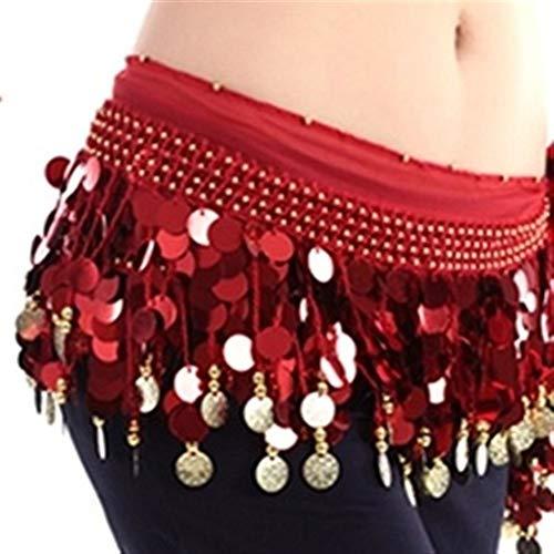 ZNXHNDSH HND Traje de la Danza del Vientre Etapa amplificadora de Baile...