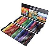 Lápices de colores, 72 lápices de colores de colores, para artistas y pintores principiantes para la escuela, el aula y el uso diario