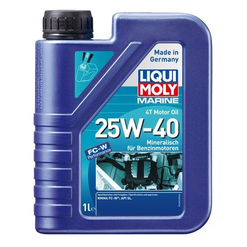 Liqui Moly 25026 Bootsmotoröl 4T 25W-40, 1 L