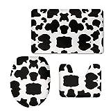 Coloranimal - Juego de alfombras Antideslizantes de Goma para baño (3 Piezas)