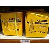 Ayerbe polipastos cadena - Polipasto profesional ay-prof-2000-p 2000kg