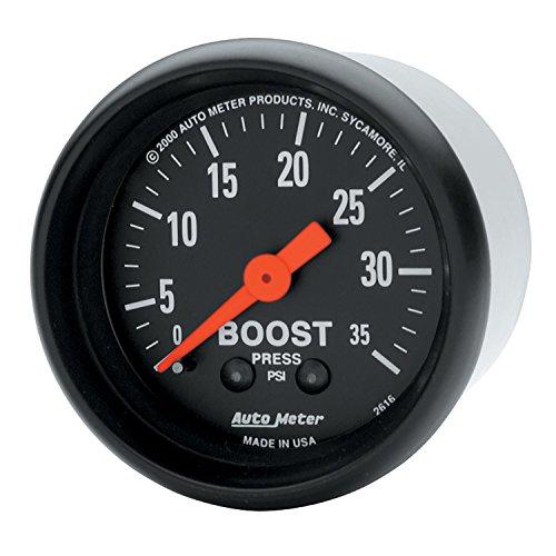 AUTO METER 2616 Boost Gauge, 2.3125 in.
