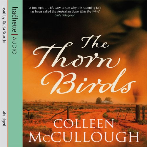 The Thorn Birds audiobook cover art