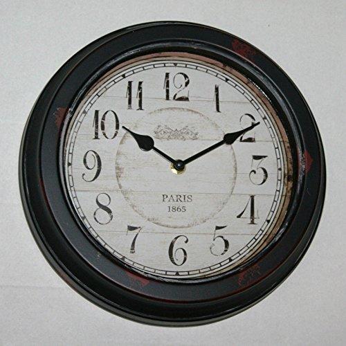 Hill Paris 1865 - Reloj de Pared (28 cm), diseño de París