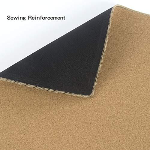 "YSAGi Multifunctional Office Writing Cork Desk Pad, Waterproof & Slipproof Desk Protector Mat for Office/Home (23.6""x11.8"") Photo #6"