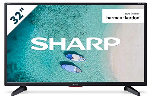 "Televisor Sharp 32CB6E - TV 32 pulgadas 32"" (resolución 1368 x 720, 3X HDMI, 2X USB) Color Negro"