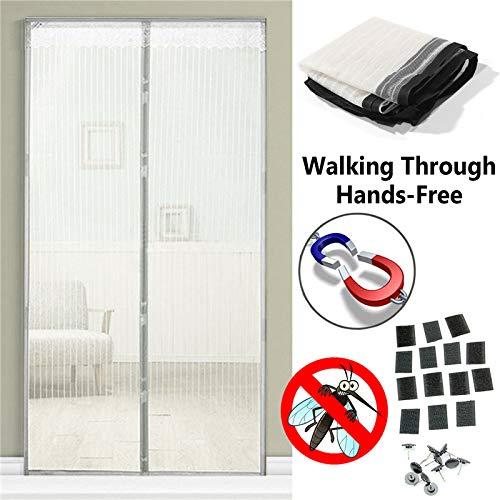 Summer Home Magnetnetz Anti-Moskito-Fliegengitter schließt automatisch das Siebfenster Küchenvorhang Mesh-Sieb Vorhang A3 B120xH210