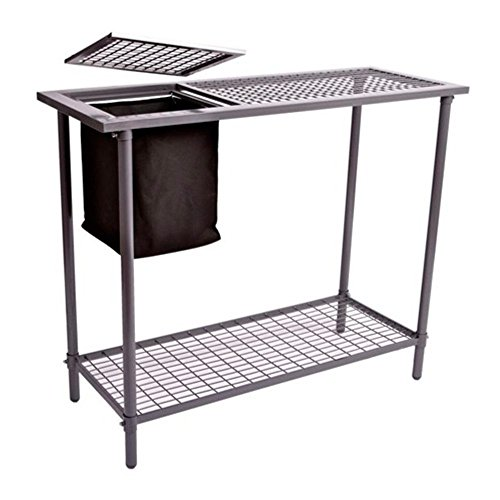 Potting Bench - Weatherguard Garden and Greenhouse Workbench Portable Gardening Center - Features...