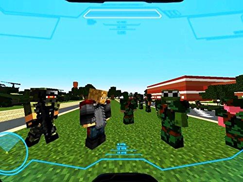 Clip: Defending Minecraft School