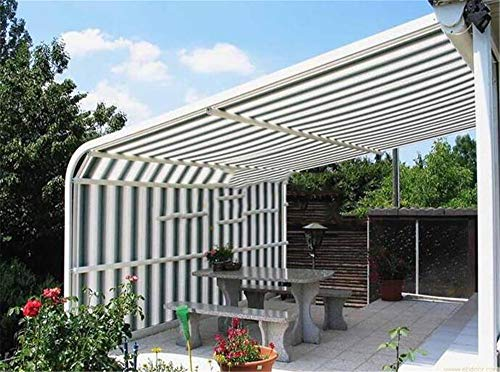 zhangchao Perfect Sunblock Shade Cloth with Grommets 90% UV for Plant Cover Greenhouse Barn Kennel Pool Pergola Or Swimming Pool,3×5m