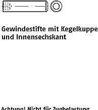 Schroefdraadpennen ISO 4026 45 H M 5 x 40 VE=S 200 stuks