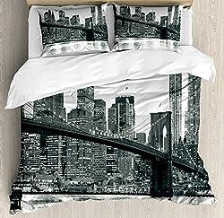 Overall Fab: New York City Skyline Bedding & NYC Themed ...