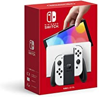 Nintendo 任天堂 Switch(有机EL款) Joy-Con(L)/(R) 白色