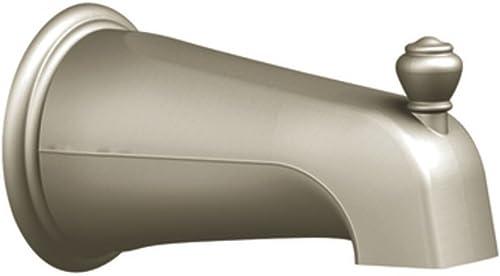 lowest Moen 3807BN Monticello Diverter sale Tub Spout, popular Brushed Nickel outlet online sale
