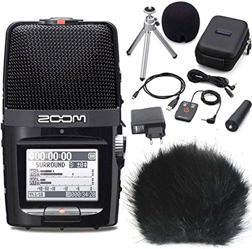 Zoom H2 N Handy Recorder H2 Next + APH di 2 Set di accessori + keepdrum wsbk Fell-??