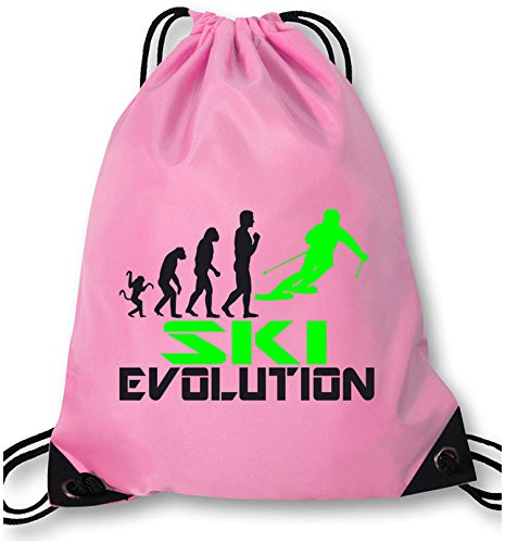 EZYshirt® Ski Evolution Turnbeutel