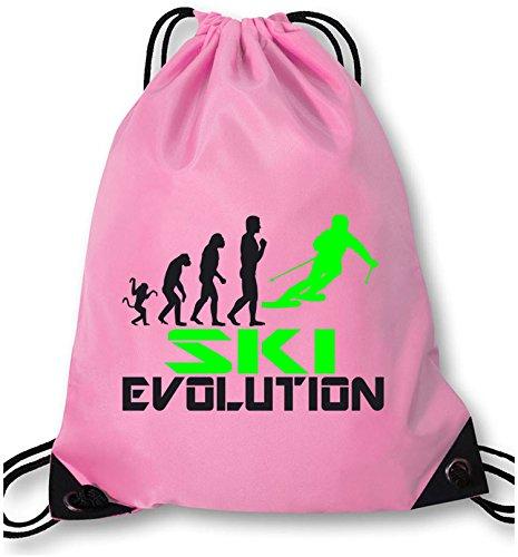 EZYshirt® Ski Evolution Turnbeutel