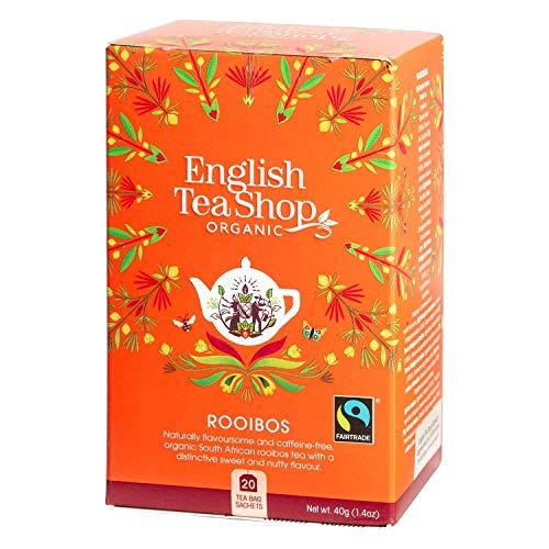English Tea Shop Organic Rooibos - 1 x 20 Sachets