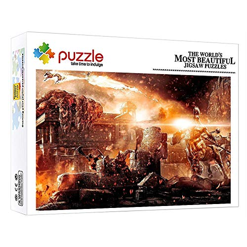 FFGHH Puzzle 1000 Piezas Puzzles Madera Puzzle Recomendado para Amigo Niños Adultos Puzzle 1000 Piezas Arte De Fantasía Rompecabezas Educativo 75X50Cm
