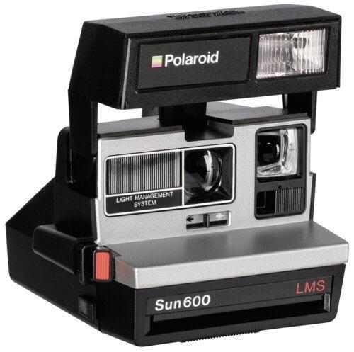 Polaroid 600 - Fotocamera con stampa istantanea degli scatti, stile anni  80