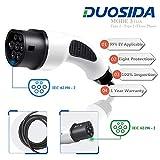 Nursight Duosida Câble de Charge électrique 3 Phases de Type 2 à Type 2 32 A (22...