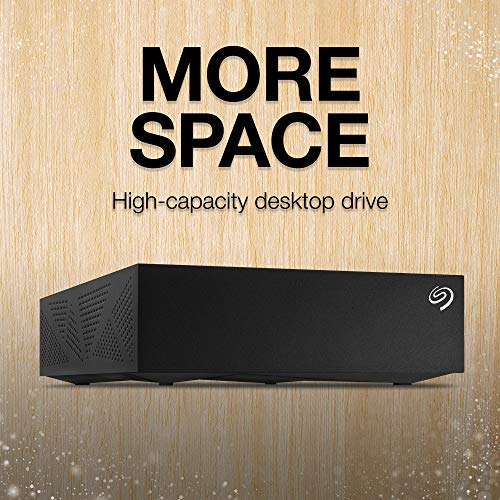 Seagate Desktop 8TB External Hard Drive HDD &#x   2013; USB 3.0 for PC Laptop and Mac (STGY8000400)