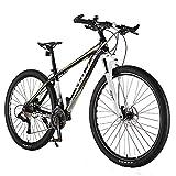 Bicicleta De Montaña Cambio De Velocidad De 33 29 Pulgadas De Aluminio Masculina De Ciclismo Jóvenes Estudiantes Fuera De La Carretera De Aleación De Bicicleta Cola Dura Bicicleta De Montaña Del Freno