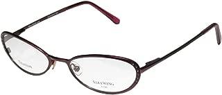Epiphany I Ladies/Young Women/Girls Cat Eye Titanium Rhinestones Spring Hinges HANDMADE IN ITALY Eyeglasses