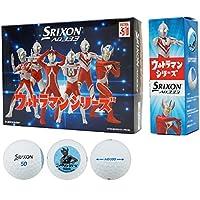 DUNLOP(ダンロップ) SRIXON AD333 ゴルフボール 1ダース(12個入り) ウルトラマンシリーズ キャラクターボール